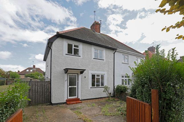 Thumbnail Semi-detached house for sale in Pleasant Way, Wembley