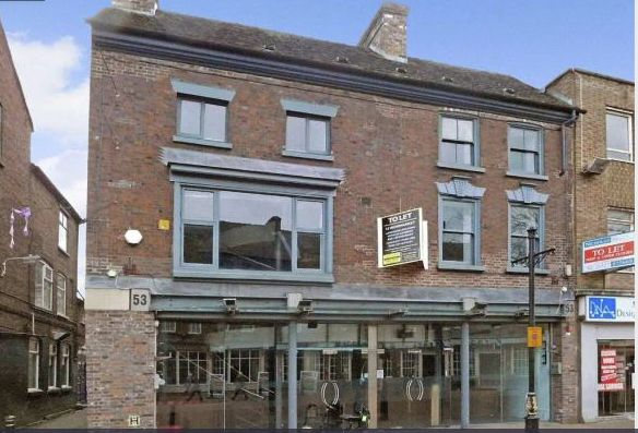 Restaurant/cafe to let in 53 Ironmarket, Newcastle-Under-Lyme, Staffordshire