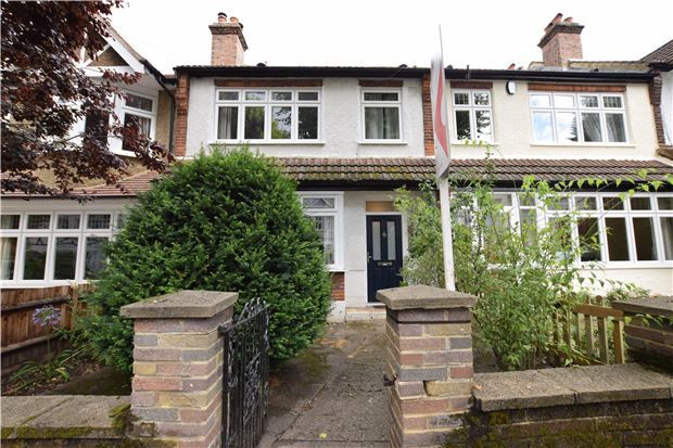 Thumbnail Terraced house for sale in The Square, Carshalton, Surrey