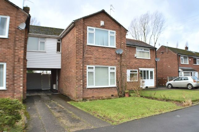Thumbnail Semi-detached house for sale in Lugano Road, Bramhall, Stockport