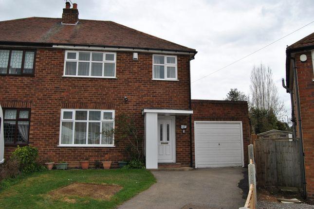 Thumbnail Semi-detached house to rent in Newborough Grove, Hall Green, Birmingham