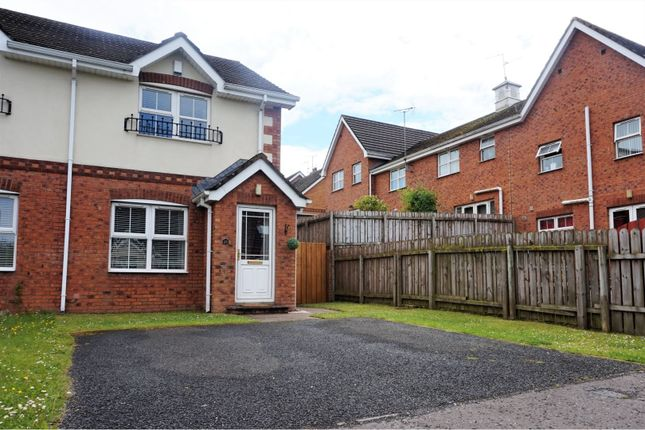 Thumbnail End terrace house for sale in Summer Meadows Park, Derry / Londonderry