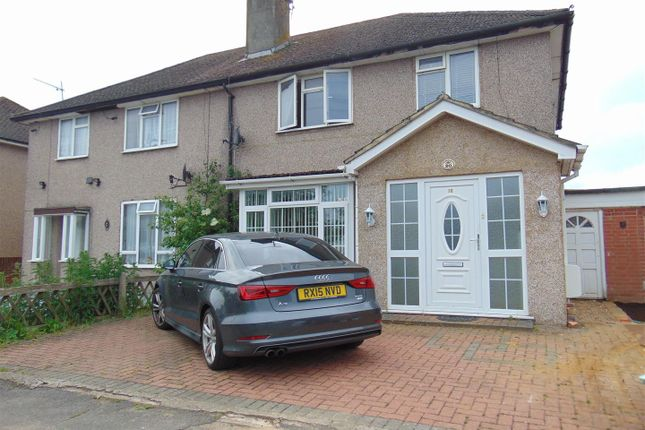 Thumbnail Semi-detached house to rent in Oldway Lane, Cippenham, Slough