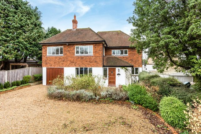 Thumbnail Detached house to rent in Alma Road, Reigate, Surrey