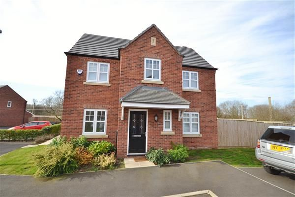 Thumbnail Detached house for sale in Almond Drive, Coppull, Chorley