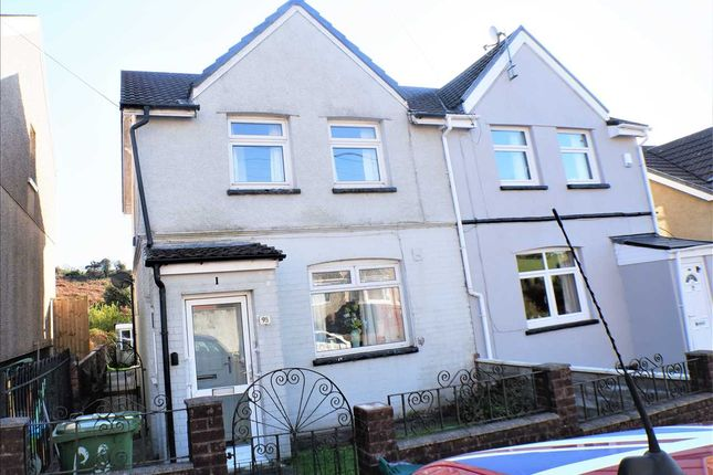 Semi-detached house for sale in Thomas Street, Gilfach Goch, Porth