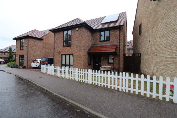 Thumbnail Link-detached house to rent in Egbert Close, Hornchurch