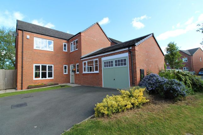 Thumbnail Detached house for sale in Clos Lowri, Hope, Wrexham