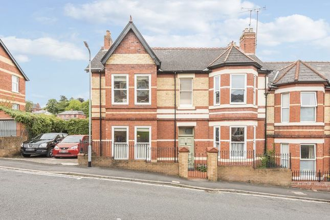 Thumbnail Semi-detached house for sale in Llanthewy Road, Newport