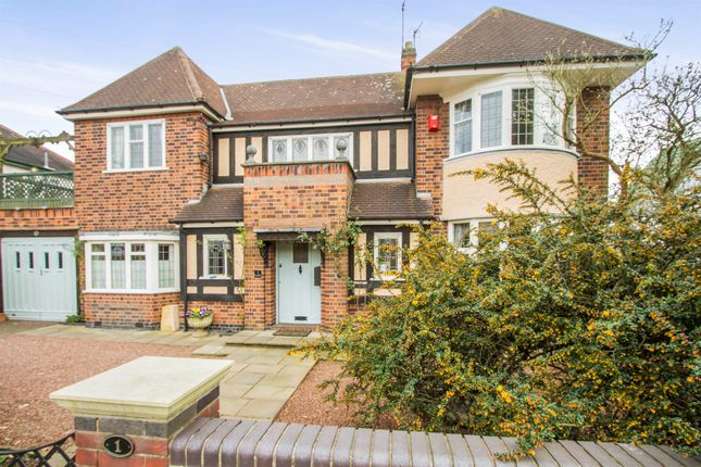 Thumbnail Detached house for sale in Wakerley Road, Evington, Leicester
