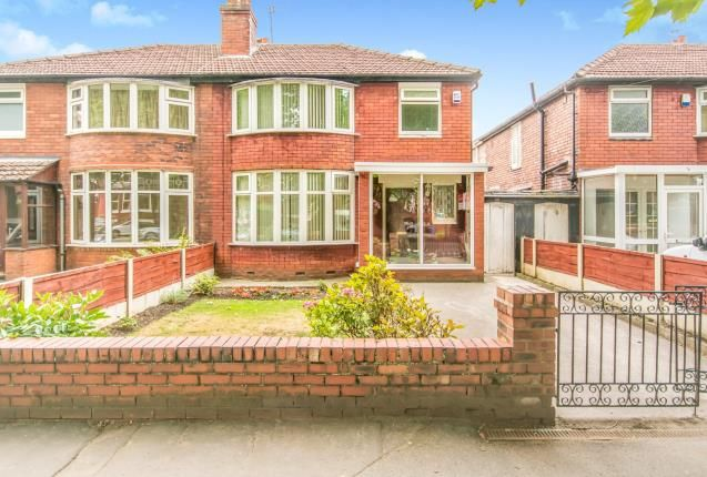 Thumbnail Semi-detached house for sale in Mauldeth Road, Manchester, Greater Manchester, Uk