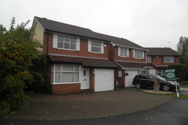 Thumbnail Detached house to rent in Oakenhayes Crescent, Minworth, Sutton Coldfield