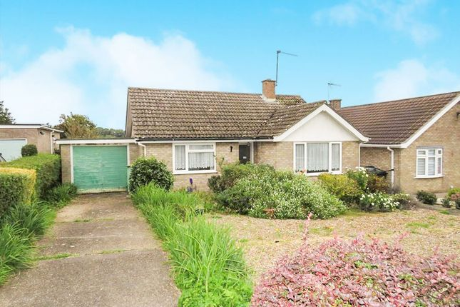 Thumbnail Detached bungalow for sale in Hillside, Swaffham