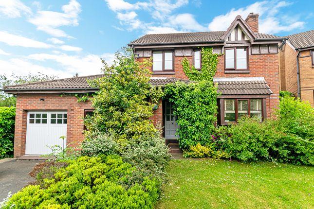 Thumbnail Detached house for sale in Chalfont Close, Appleton, Warrington