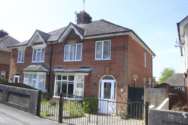 Thumbnail Semi-detached house to rent in Pauls Dene Road, Salisbury