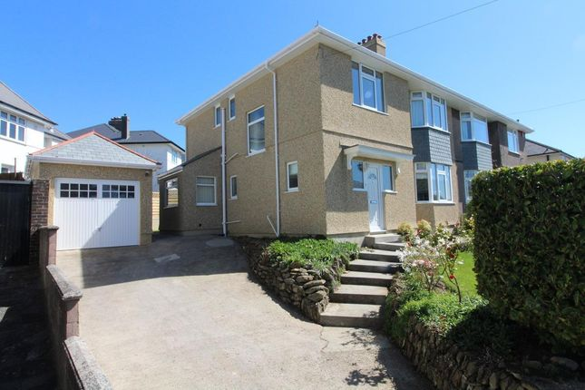 Thumbnail Semi-detached house for sale in Venn Grove, Hartley, Plymouth
