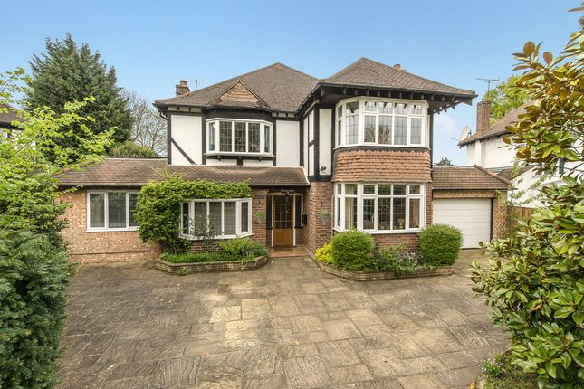 Thumbnail Detached house for sale in Seymour Gardens, Surbiton
