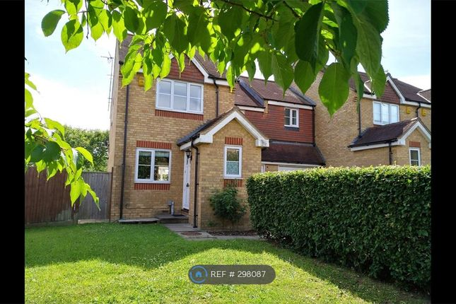 Thumbnail End terrace house to rent in Orient Close, St Albans