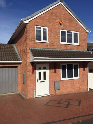 Thumbnail Detached house to rent in Tollhouse Road, Stoke Heath, Bromsgrove