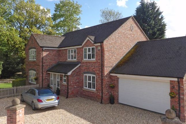 Thumbnail Detached house for sale in Park Drive Gardens, Wistaston, Cheshire