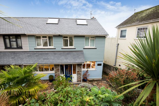 Thumbnail Semi-detached house for sale in Knowle Road, Salcombe
