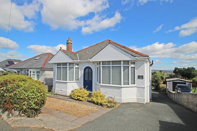 Thumbnail Detached bungalow for sale in Homer Rise, Elburton, Plymouth, Devon
