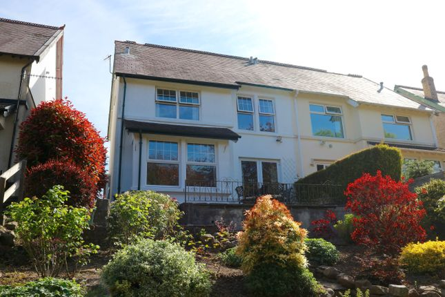 Thumbnail Semi-detached house for sale in Park Crescent, Thomastown, Merthyr Tydfil