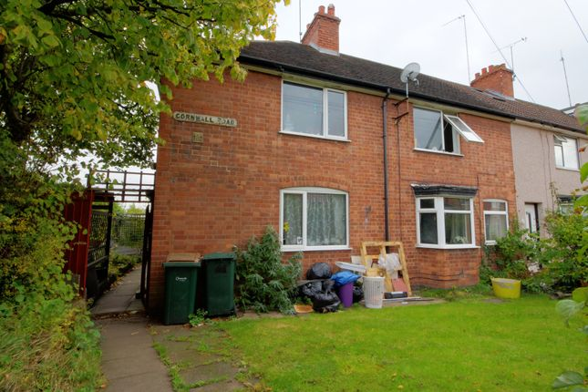 Thumbnail End terrace house for sale in Cornwall Road, Coventry