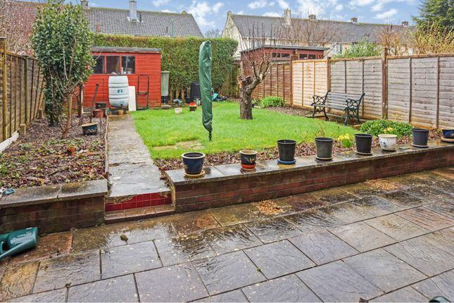 Rear Garden of Kendal Avenue, Southampton SO16