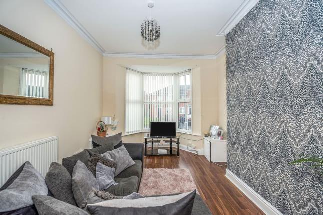 Living Room of Florence Street, Liverpool, Merseyside L4