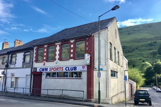Thumbnail Commercial property for sale in Cwm Sports Club, 2 Marine Street, Cwm, Ebbw Vale