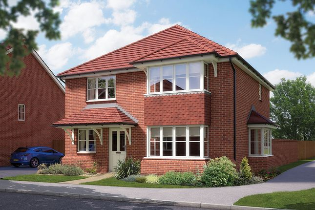"Thumbnail Detached house for sale in ""The Canterbury"" at Matthewsgreen Road, Wokingham"