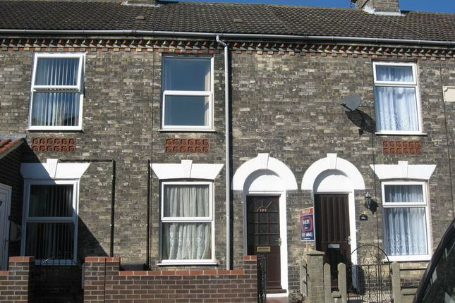 Thumbnail Terraced house to rent in Bells Road, Gorleston, Great Yarmouth