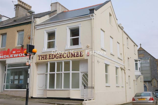 Thumbnail End terrace house for sale in Fitzroy Terrace, Fitzroy Road, Stoke, Plymouth