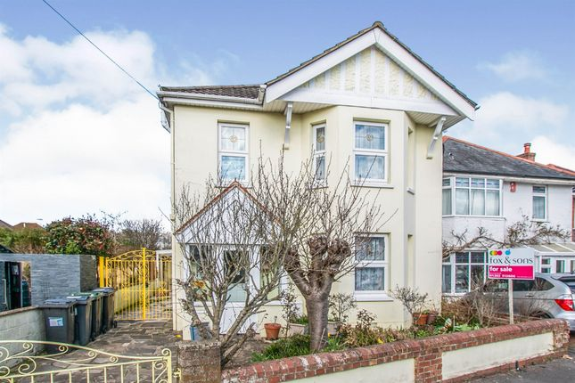 Thumbnail Detached house for sale in Limited Road, Winton, Bournemouth