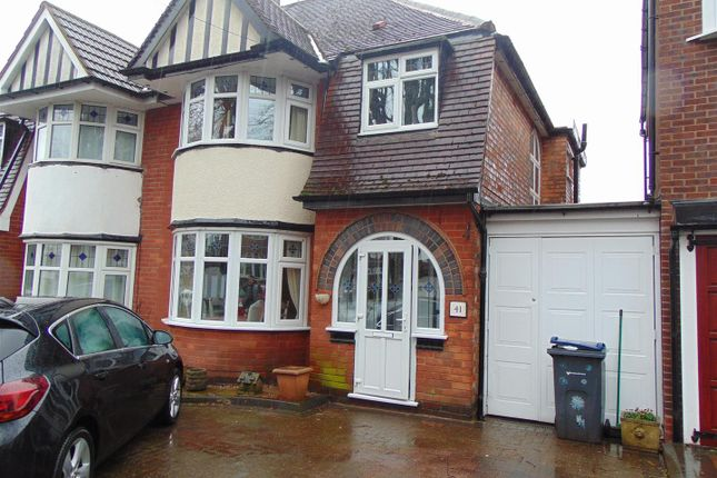 Thumbnail Semi-detached house to rent in Berkswell Road, Erdington, Birmingham