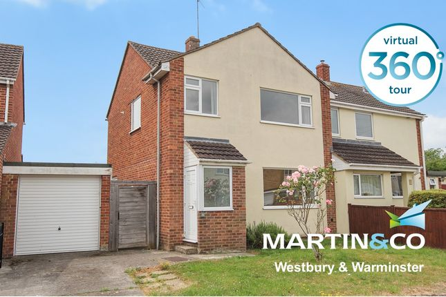Thumbnail Semi-detached house to rent in Chichester Park, Westbury