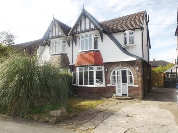 Thumbnail Semi-detached house for sale in Lymefield Grove, Mile End, Stockport, Cheshire