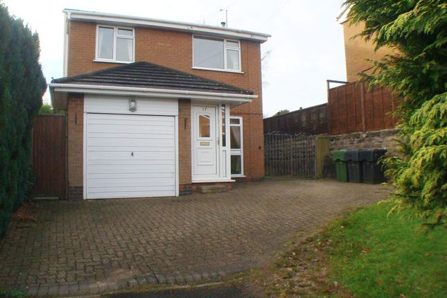 Thumbnail Detached house for sale in Stockhill Drive, Rednal