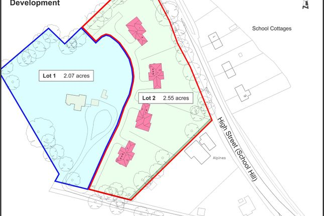 Thumbnail Land for sale in London Road, Maresfield, Uckfield, East Sussex