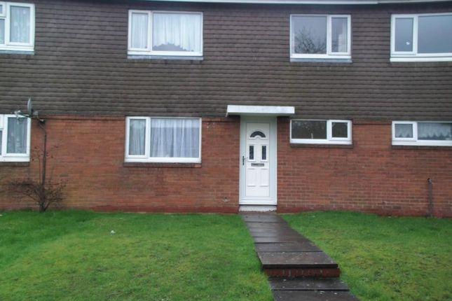 Thumbnail Terraced house to rent in Crossley Walk, Bromsgrove