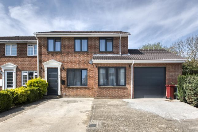 Thumbnail End terrace house for sale in Ramsdell Close, Tadley