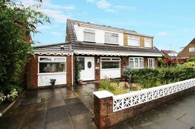 Thumbnail Semi-detached house for sale in Laffak Road, St Helens, Merseyside