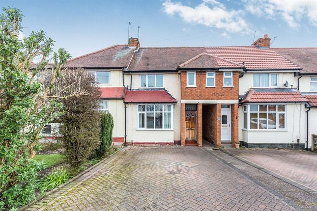 Thumbnail Terraced house for sale in Shalford Road, Solihull