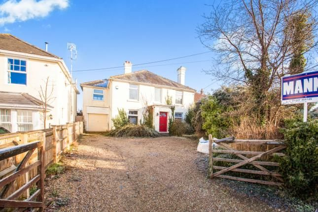 Thumbnail Detached house for sale in Shalmsford Street, Chartham, Canterbury, England