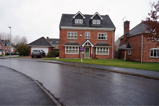 Thumbnail Detached house for sale in Redshank Drive, Macclesfield