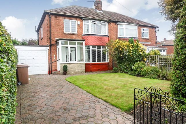 Thumbnail Semi-detached house for sale in Dovecote Road, Forest Hall, Newcastle Upon Tyne