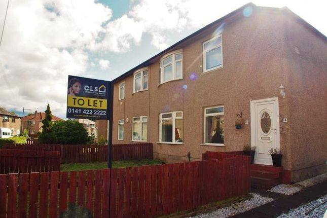 3 bed flat to rent in Castlemilk Crescent, Croftfoot, Glasgow