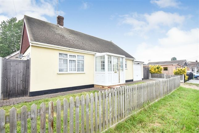 Thumbnail Detached bungalow for sale in Point Road, Canvey Island, Essex