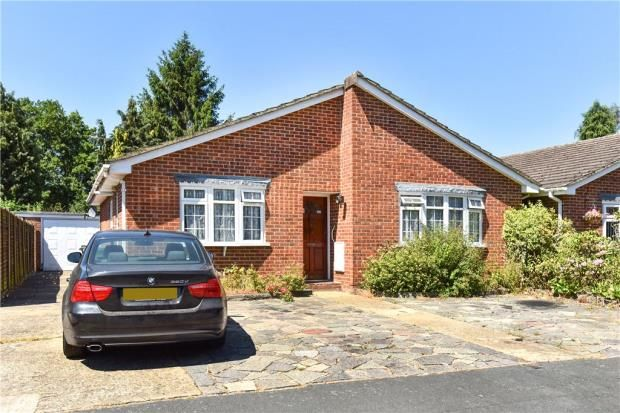 Thumbnail Detached bungalow for sale in Kingsmead, Frimley Green, Camberley